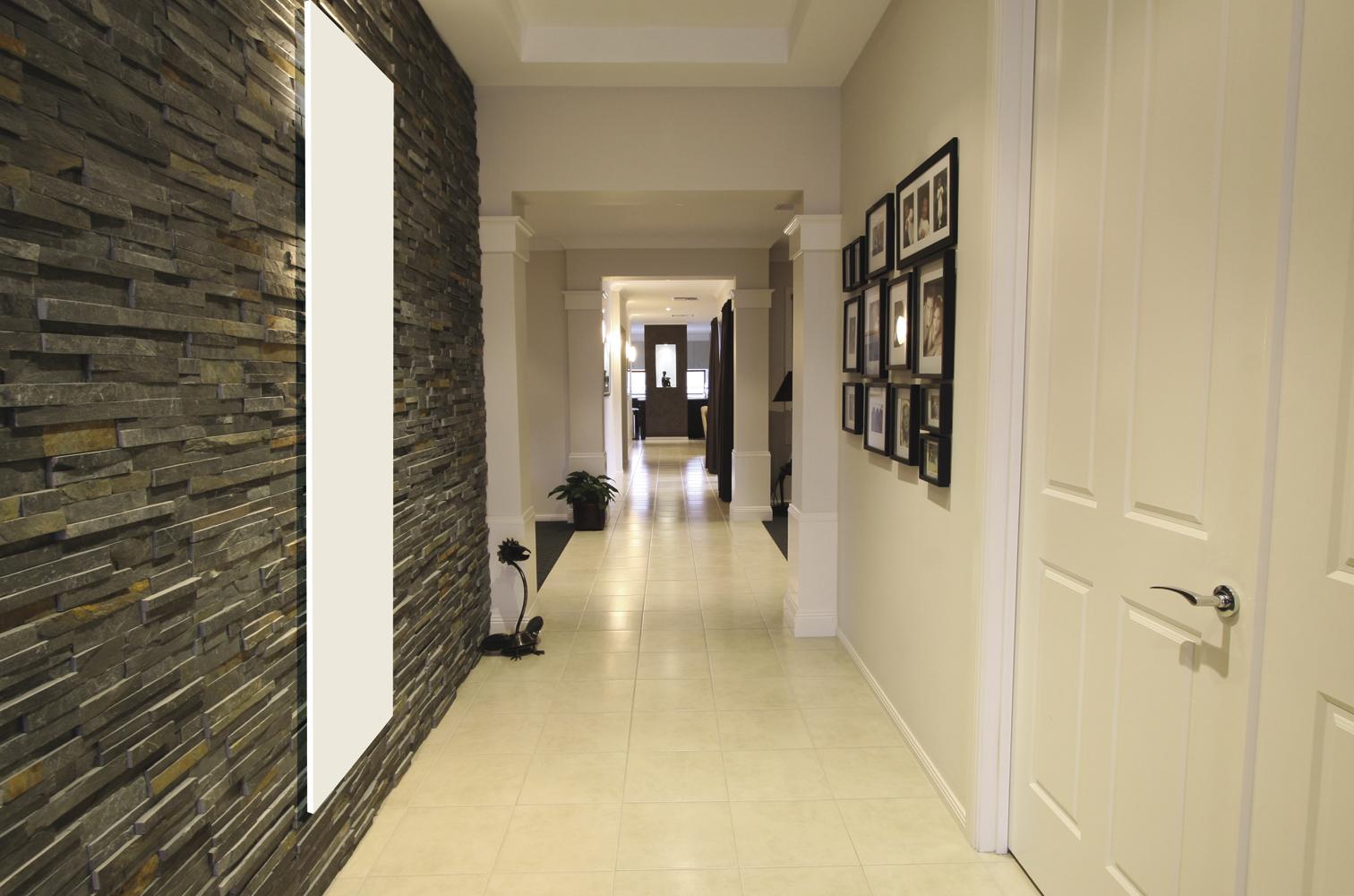 activ tendances radiateur monochrome electrique 450 w blanc. Black Bedroom Furniture Sets. Home Design Ideas