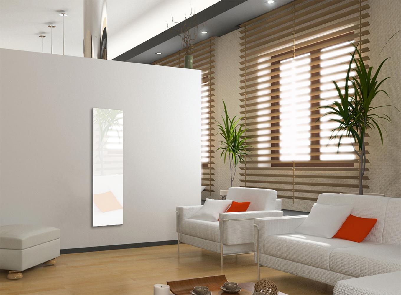 activ tendances radiateur verre tremp electrique 800 w blanc. Black Bedroom Furniture Sets. Home Design Ideas